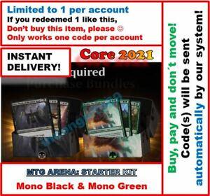 MAGIC-MTG-Arena-Code-Standard-2021-Arena-2-Decks-BLACK-GREEN-INSTANT-EMAIL