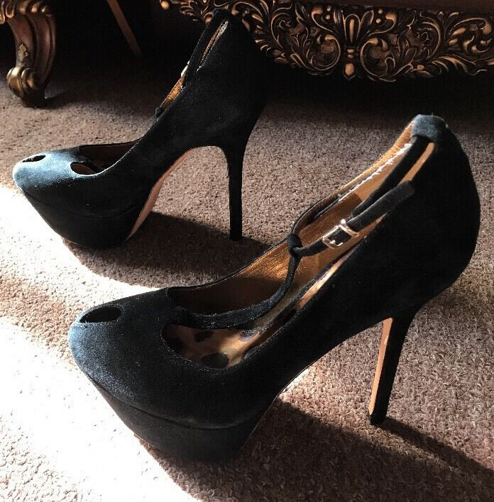 garantito Sam Edelman Sandals Heels Platform Suede Suede Suede Dimensione 7 12  vendita online