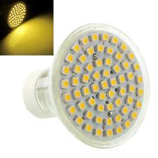 GU10 Warmweiß 60 LED 3528 SMD Enegiesparen Spotlight Lampen-Birne 5W