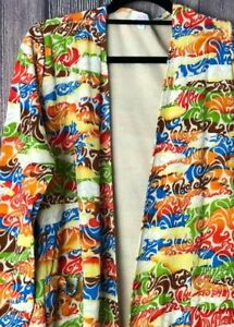 Sarah L Lularoe Bright Offwhite Large Unicorn Huge Swirls Cream Neon Colors w1ddAqf