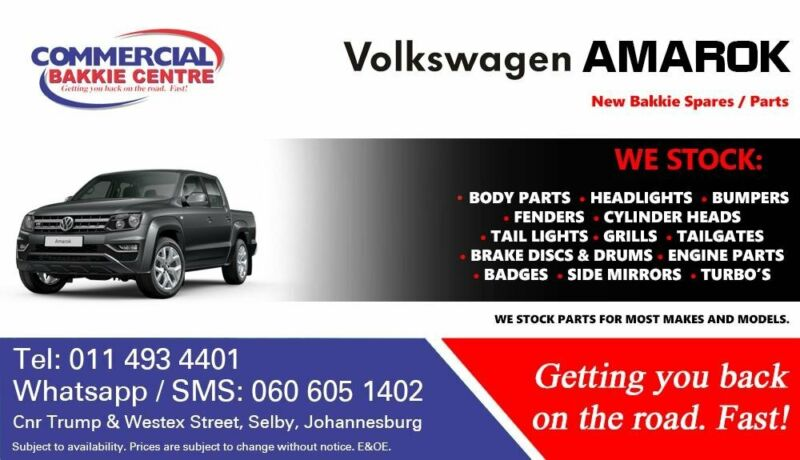 VW Amarok Parts and Spares For Sale