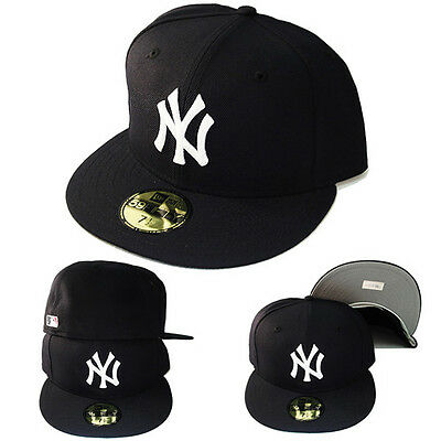 New Era New York Yankees 5950 Fitted Hat Official MLB19 Clubhouse Navy Blue Cap