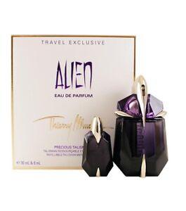 Set-donna-ALIEN-THIERRY-MUGLER-Travel-Exclusive-profumo-edp-30ml-miniatura-6ml