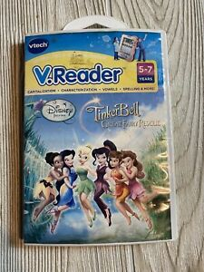 V-Reader-DISNEY-FAIRIES-TINKER-BELL-GREAT-RESCUE-Reading-Learning-Game-Vtech