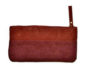 Womens-Celine-Dion-Dark-Red-Long-Zipped-Purse-bag