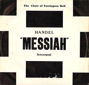 El-coro-de-Terrington-Hall-Hancock-Handel-Mesias-extractos-Sn-262-Lp-PS-EX-en-muy-buena-condicion