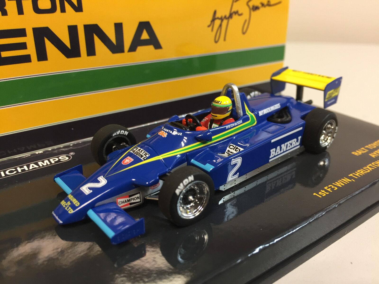 Minichamps F3 Ralt Toyota RT3 1982 A. Senna 1 43 547824302
