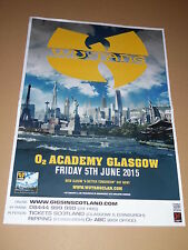 WU TANG CLAN POSTER - tour concert / gig poster RZA GZA ODB hip hop mc