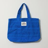 Hollister Lace Beach Tote Bag In Blue $34.50