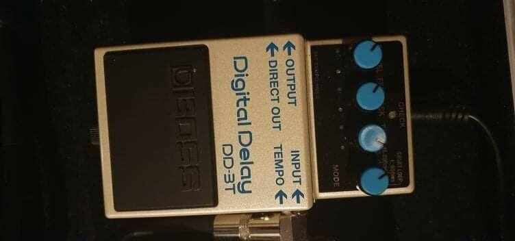 Effect Pedal for Electric Gui, Boss DD-3T Digital Delay