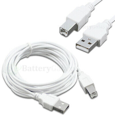 10 ft, 100 1-100 Lot 6 10 15 Compatible with HP PSC All-in-One Printer USB Premium Cable Cord A-B