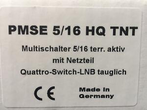 Multischalter-PMSE-5-16-HQ-mit-Netzteil-FullHD-3D-HDTV-NEU
