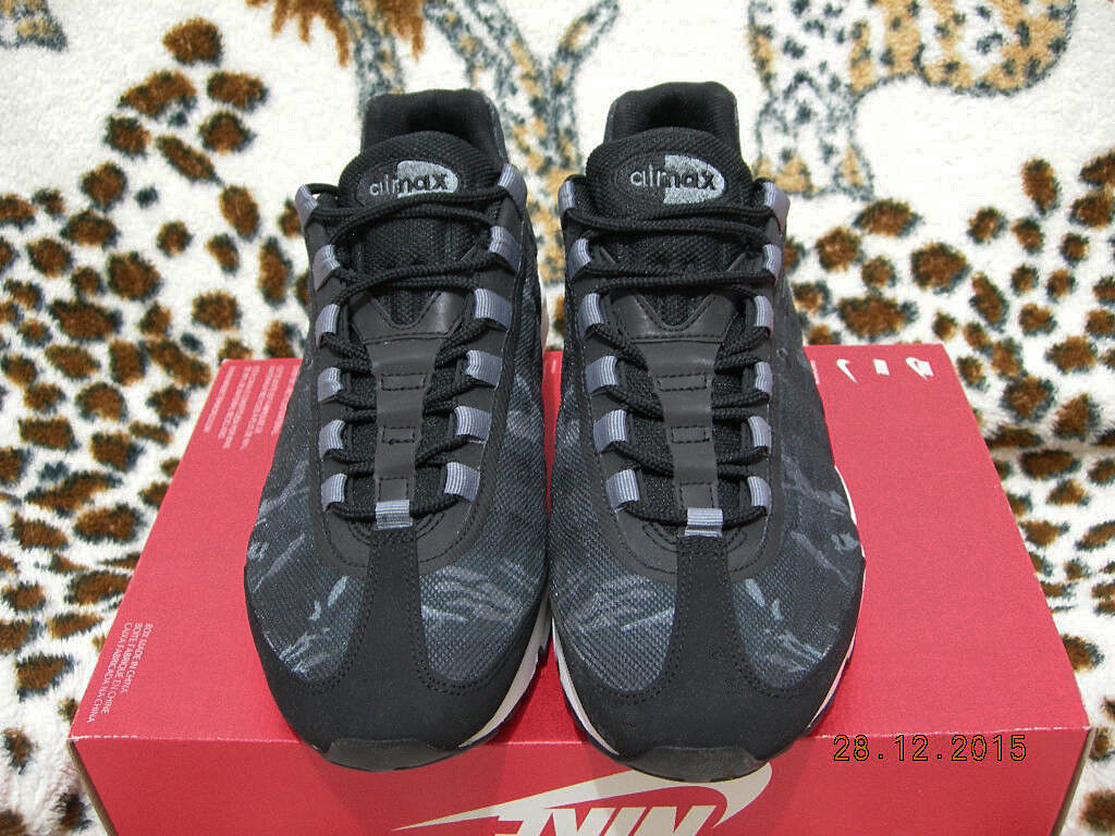 2014 NIKE AIR MAX 95 PREMIUM TAPE Gr.44 US 10 ultra 599425-010 moire patch 97 98