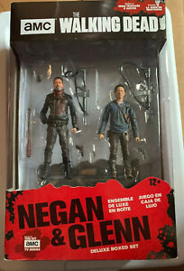 MCFARLANE THE WALKING DEAD NEGAN /& GLENN 5 INCH ACTION FIGURE 2 PACK