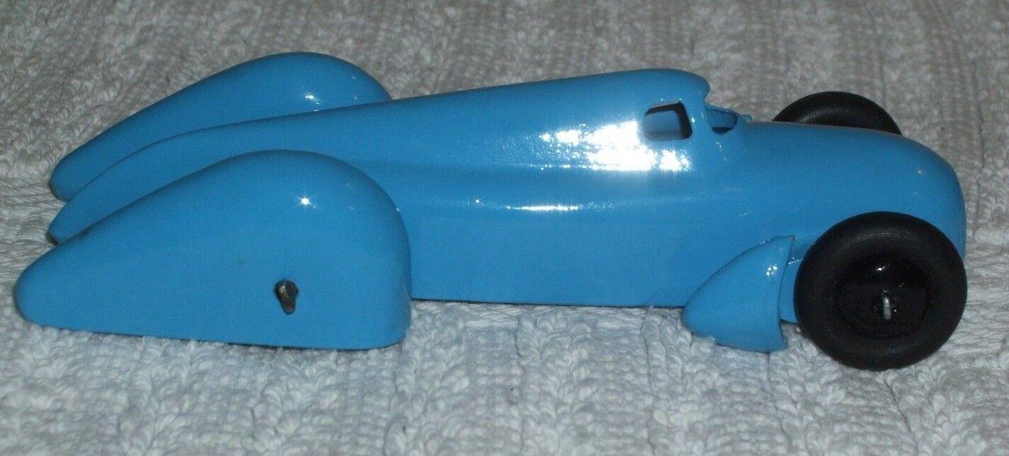 DINKY DIECAST (RARE) MODEL  AUTO-UNION RACING CAR CAR CAR - blueE COLOUR  CAT No 23d 3ca5d5