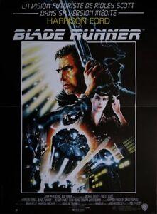 BLADE-RUNNER-Affiche-Cinema-Originale-53x40-Movie-Poster-Ridley-Scott