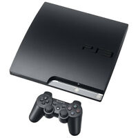 Sony PlayStation 3 Slim - 250 GB Charcoal Black Console Very Good Condition