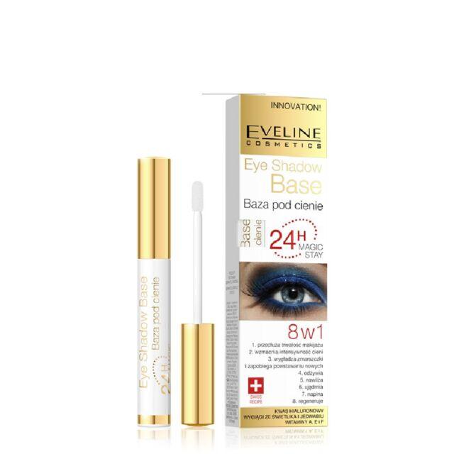 Eveline 8in1 Eye Shadow Base 24h Magic Stay Long Lasting Eye Primer Innovation