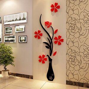 3D-Mirror-Flower-Decal-Wall-Sticker-Diy-Removable-Art-Mural-Room-Decor