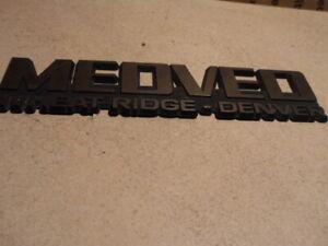 Medved Wheat Ridge >> Details About Vintage Medved Wheat Ridge Denver Dealer Plate Emblem