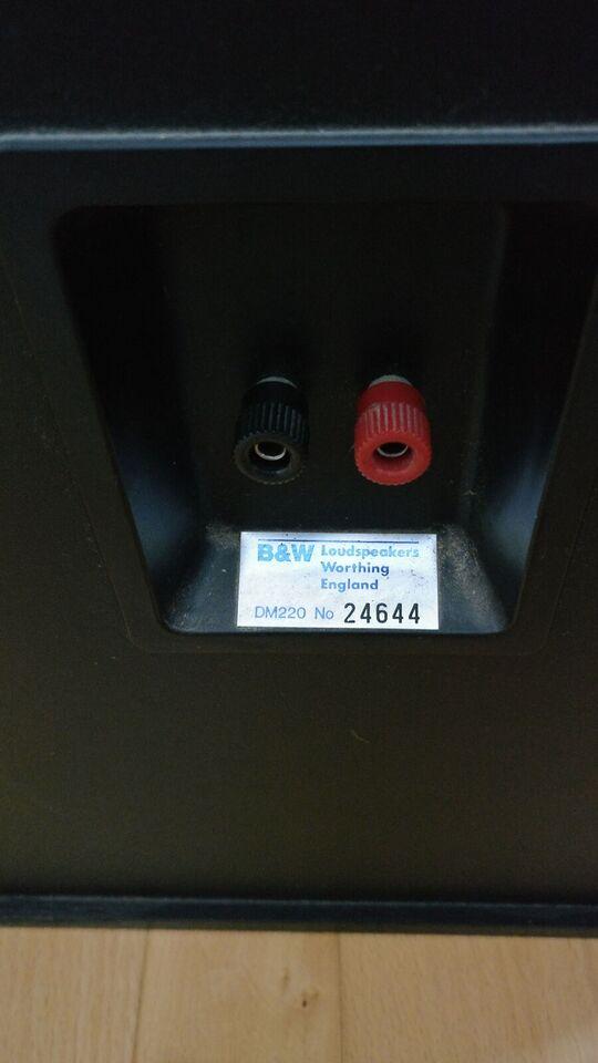 Højttaler, B&W, DM220