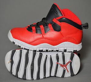 the best attitude 71c98 2dc89 Details about Nike Air Jordan Retro 10 Basketball Shoes Red/Blk/Gray  310808-601 (sz 10)[3]