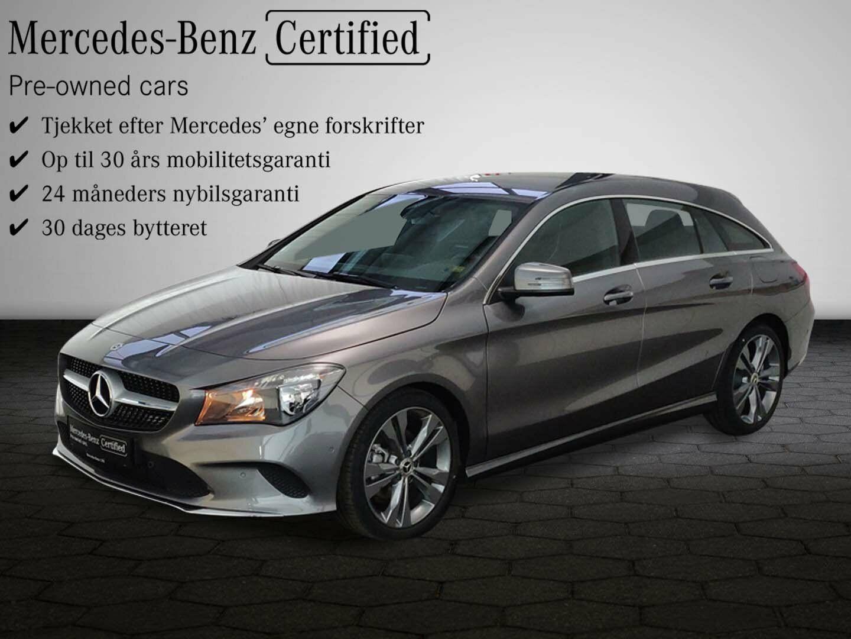 Mercedes CLA200 1,6 SB aut. 5d - 350.200 kr.