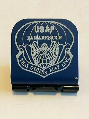 USAF Sen Air Maintenance /& Munitions Bdg Laser Etched Aluminum Hat Clip Brim-it