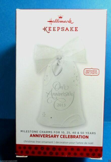 "Hallmark /""Anniversary Celebration/"" Ornament 2013"