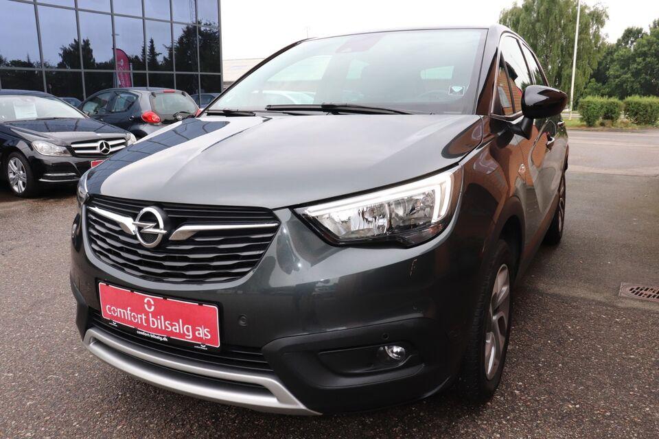Opel Crossland X 1,2 T 110 Innovation Benzin modelår 2017 km