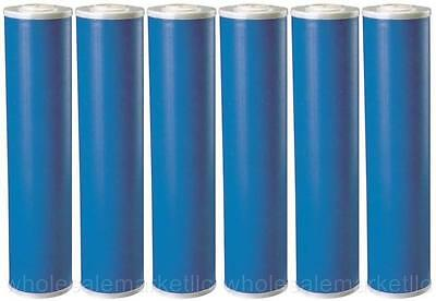 "20"" Big Blue (GAC) Carbon Replacement Water Filters (6 Pcs) 4.5 x 20 Cartridges"