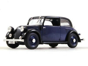 Mercedes-Benz-130-W23-Blue-1934-Year-1-43-Scale-Diecast-Collectible-Model-Car