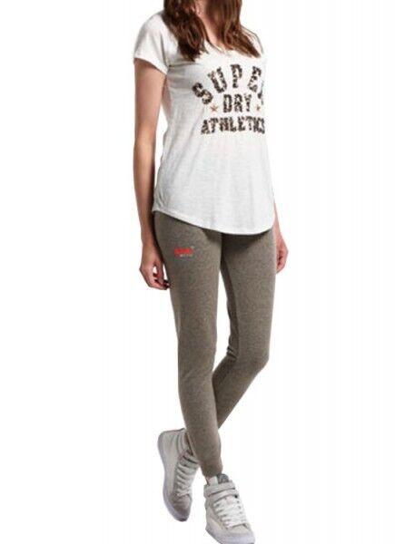 Superdry Hose OL Super Skinny Jogger TBQ Grey - G70LT007 - +NEU+ Größe XS-L