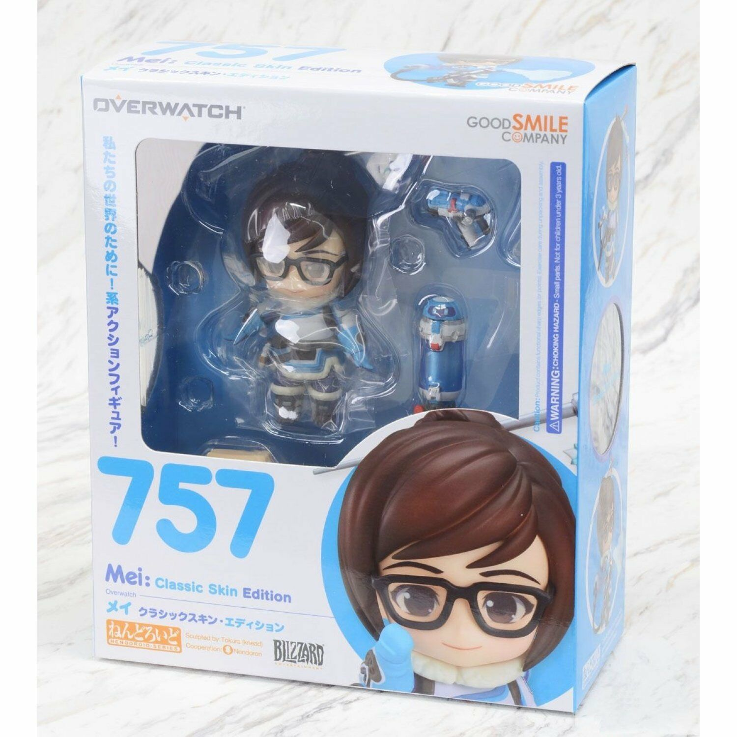 GOOD SMILE CO NENDgoldID OVERWATCH MEI CLASSIC SKIN ACTION FIGURE NEW AUTHENTIC