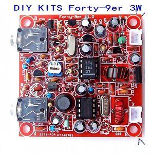 DIY-KITS-Forty-9er-3W-HAM-Radio-QRP-CW-HF-Radio-TRANSCEIVER-7-023MHz-Telegraph