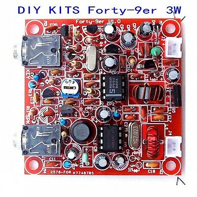 Forty-9er 3W HAM Radio QRP CW TRANSCEIVER HF Radio Telegraph Shortwave DIY KITS