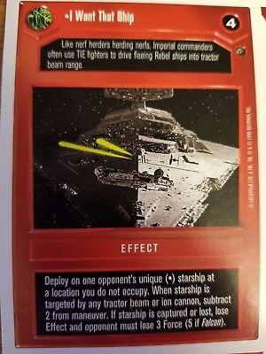 Star Wars CCG Death Star II Scimitar 2 NrMint-MINT SWCCG