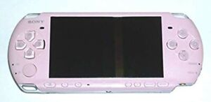 USED-SONY-PSP-Playstation-Portable-Console-Blossom-Pink-PSP-3000ZP-JAPAN-F-S