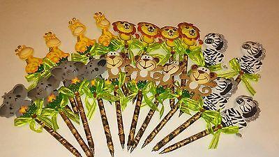 safari 20 pcs Baby shower pens for girl