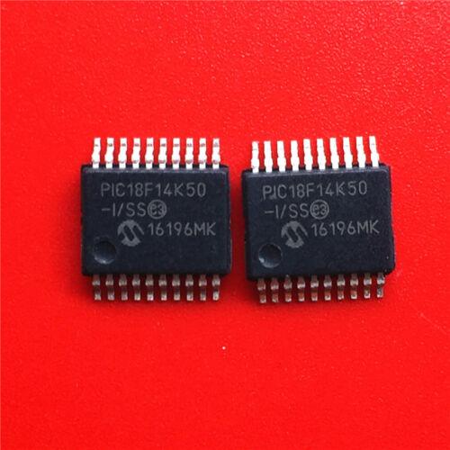 5 pcs PIC PIC18F14K50-I//SS SSOP 20-Pin USB Flash