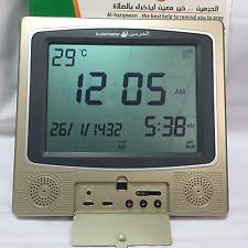 1150 Cities Muslim Azan Clock Pray Clock Reminder Wall Clock HA-4009 ramadan
