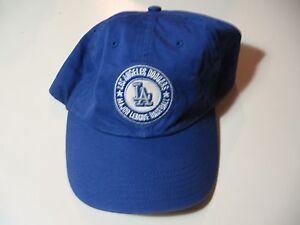 MLB Los Angeles Dodgers  cloth strap metal buckle adjustable hat ... d34cffd3686b