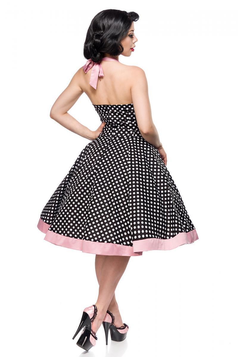 belsira swing kleid vintage rockabilly pinup blau rosa