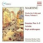 Bohuslav Martinu - Martinu: Works for Cello and Piano, Volume 1