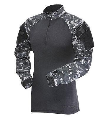 TRU-SPEC 2570 1/4 Zip Military Combat Shirt Urban Digital Camo - Size LARGE