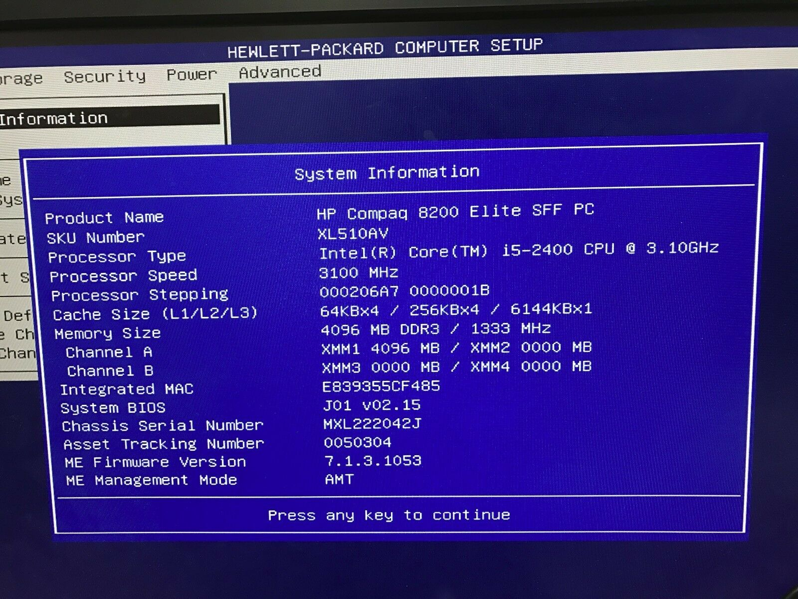 Hp 8200 Elite Uefi Disable
