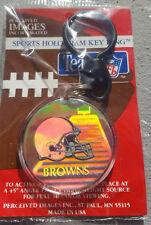 CLEVELAND BROWNS NFL IMAGES HOLOGRAM KEYCHAIN KEY RING FOOTBALL KOSAR
