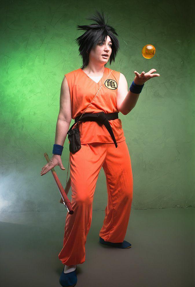 Son Goku Dragonball Cosplay Cosplay Cosplay Kostüm Karneval Originalgetreu 1. Staffel Gr. 38 40 83c1e2