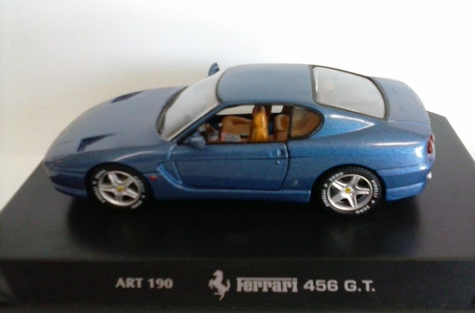 DETAIL CARS DETAILCARS 1 43 43 43 AUTO DIE CAST FERRARI 456 GT 1992 AZZURRO ART 190 6ac9dd