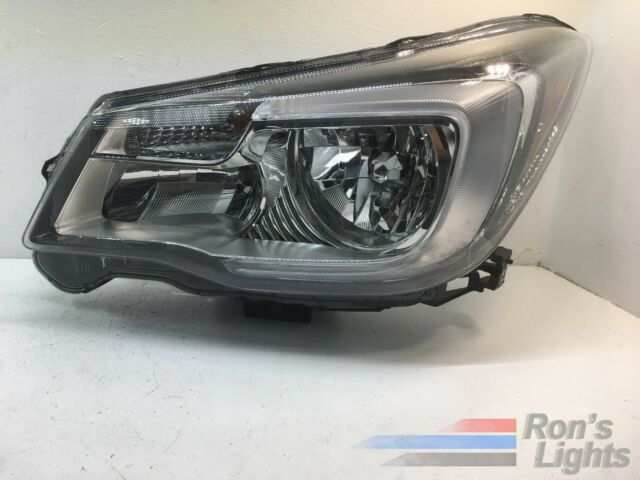 2017 2018 Subaru Forester Halogen Headlight Oem Lh Driver Pre Owned